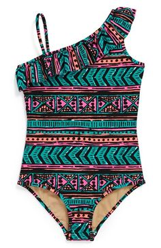 Milly Minis One-Piece Swimsuit (Toddler Girls, Little Girls & Big Girls) available at #Nordstrom