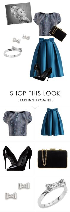 """Untitled #68"" by janaboughanem ❤ liked on Polyvore featuring Coast, Chicwish, Dolce&Gabbana, MICHAEL Michael Kors, Marc by Marc Jacobs and Kate Spade"