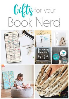 Do you have a book nerd on your list this Christmas? Check out these unique gifts for Book Lovers!