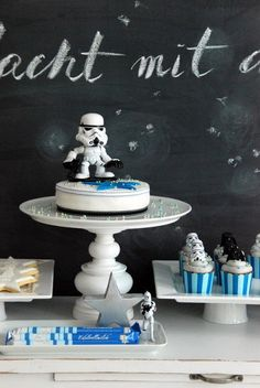 Liebesbotschaft: Kids star wars party