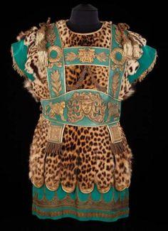 Richard Burton's Greek Cleopatra costume. Inspiration for Livery?