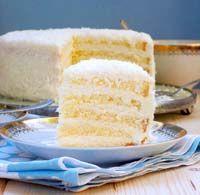Biszkoptowy tort kokosowy. | Ósmy kolor tęczy - Blog kulinarny