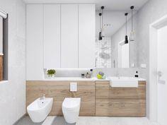 Grey Bathrooms, Small Bathroom, Furniture Inspiration, Bathroom Inspiration, Bathroom Layout, Bathroom Designs, Minimalist Bathroom, Double Vanity, Interiores Design
