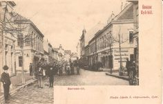 Győr, Baross út - Árpád út sarok. Hungary