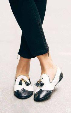 Oxfords, loafers, pumps, tassels, fringe, sparkle