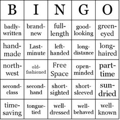 Baby Shower Gift Bingo Game Includes  PreFilled Baby Shower