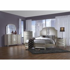 Avalon Regency Park 5 Piece King Bedroom Set