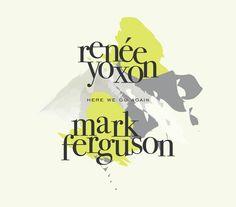 Liu Comingore's graphic design work for Renée Yoxon & Mark Ferguson album. Cd Design, Graphic Design, Logo Design, Great American Songbook, Contemporary Jazz, Music Promotion, Piece Of Music, Jazz Musicians, Original Music