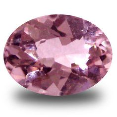 Morganite 110802: 0.49 Ct Amazing Oval Cut (6 X 5 Mm) Pink Color Morganite Gemstone -> BUY IT NOW ONLY: $34.99 on eBay!
