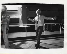 Andy Warhol, Andy Warhol (Roller Skating), 1979, unique vintage gelatin silver print. The Andy Warhol Museum, Pittsburgh; Contribution The Andy Warhol Foundation for the Visual Arts, Inc. © 2012 The Andy Warhol Foundation for the Visual Arts/Artists Rights Society (ARS), New York