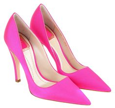 Christian-Dior-Spring-2013-Neon-Pink-Pumps