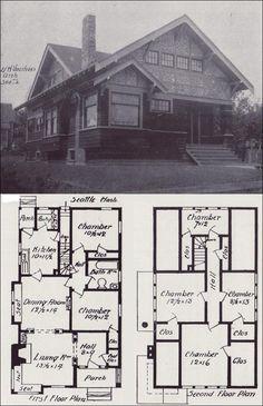 Sears Craftsman-style House - Modern Home 264B240 - The Corona ...