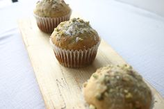 Pistachio & Poppy Seed Muffins