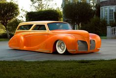 1939 Lincoln Zephyr Woody