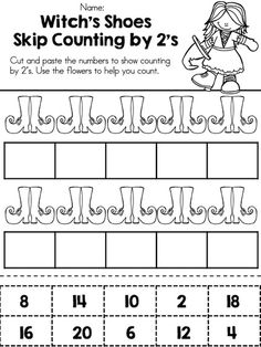 Counting By Twos:Worksheets