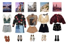 """#70"" by bbygirrrl ❤ liked on Polyvore featuring Topshop, TAJ by SABRINA CRIPPA, Jean-Paul Gaultier, Acne Studios, Maison Margiela, Levi's, Gipsy, Ann Demeulemeester, Converse and Emilio Pucci"
