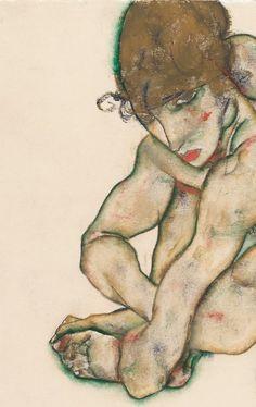 1914, Egon Schiele.
