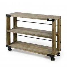 Shelf On Wheels