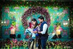 Mother and newborn baby taking a beautiful photo Cradle decoration ideas with flowers. Latest ideas for naming ceremony decorations and cradle ceremony decoration. Diwali Decorations At Home, Birthday Balloon Decorations, Ceremony Decorations, Flower Decorations, Paper Decorations, Naming Ceremony Decoration, Marriage Decoration, Cradle Decoration, Makeup Beauty Room