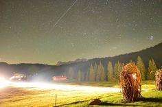 #HOTELS #SWD #GREEN2STAY Tirler - Dolomites Living Hotel, Seiser Alm / Alpe di Siusi Was für ein romantischer Sternenhimmel....