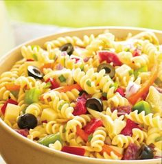pasta salads on Pinterest | Pasta Salad Recipes, Pasta Salad and Pasta