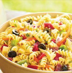 pasta salads on Pinterest | Pasta Salad Recipes, Pasta Salad and Pasta