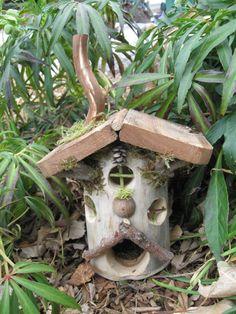 Fairy Cottage OOAK. $55,00, via Etsy.