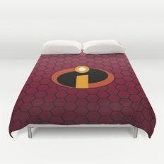 Incredible Logo Duvet Cover Duvet Covers, The Incredibles, Logo, Furniture, Home Decor, Logos, Decoration Home, Logo Type, Room Decor