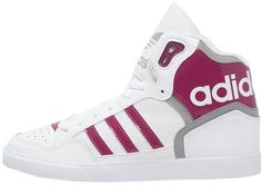 adidas Originals EXTABALL Sneaker high white/berry/solid grey