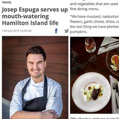 Interview on the Daily Mercury today where we talk about our restaurant and pumpkins...  #dailymercury #bommierestaurant #HamiltonIsland #HamiltonIslandYachtClub #yachtclub #queensland #lovewhitsundays #australia #australiarestaurant #gastroart #gastronomy #foodporn #theartofplating #chefsrol #chefstalk #chefsofinstagram #chefsgarden #instafood #instatravel by josepespuga