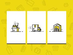 Dribbble - Sherpa Storage Icons by Sooodesign