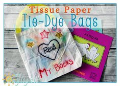 DIY Tissue Paper Tie