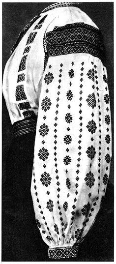 Folk Embroidery Nyz embroidery of Eastern Podillia, Ukraine - photos AND technique. Types Of Embroidery, Folk Embroidery, Cross Stitch Embroidery, Embroidery Patterns, Folklore, Ukraine, Blackwork, Folk Clothing, Lesage