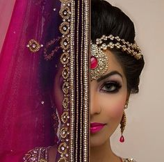 Image about love in Muslim Brides💍 by Magiic_Love Asian Bridal, South Asian Wedding, Indian Wedding Fashion, Indian Fashion, Make Up Inspiration, Wedding Inspiration, Exotic Beauties, Bridal Beauty, Bridal Hair