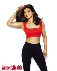 Keeping it real: Priyanka Choprainsisted that you don't have to 'kill yourself in the gym' or 'starve yourself' to stay fit