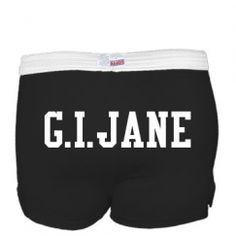 In case you need your name on your ass. Custom Roller Derby Shirts, Shorts, Bags, & More