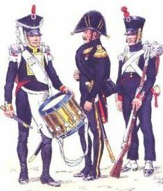 Gwardia Cesarska - Le Battailon d'Elite polonais 1813.