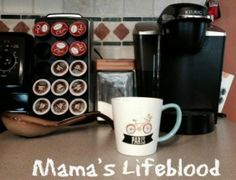 How do I teach my children the importance of mama's coffee?