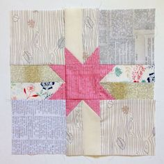 Catching up: This week I finished up a few quilt blocks that I'd...