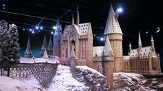 Hogwarts in the Snow at Warner Bros. Studio Tour London – The Making of Harry Potter