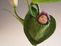 Fairy Baby Leaf Cradle