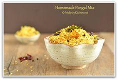 Homemade Instant Pongal Mix ~ Khichdi Mix