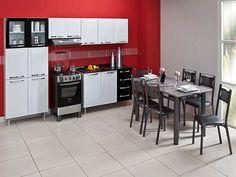 Olha essa cozinha super linda, 11 portas - Itatiaia