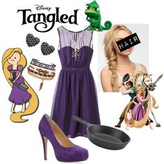 """""""Rapunzel modern"""" by leticia-otto on Polyvore"""
