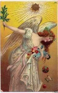 vintage european christmas cards