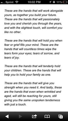 Celtic tradition- I just love this. You tie both your hands together with ribbon and say this as apart of your ceremony.