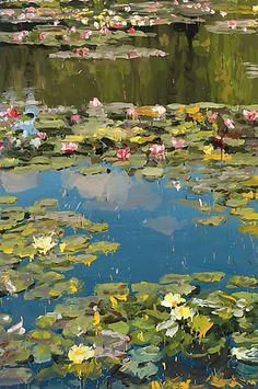 Garden 3 2014 oil on canvas 200 x 133 cm