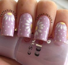 Flowers do not always open, but the beautiful Floral nail art is available all year round. Choose your favorite Best Floral Nail art Designs 2018 here! We offer Best Floral Nail art Designs 2018 .If you're a Floral Nail art Design lover , join us now ! Spring Nail Art, Nail Designs Spring, Spring Nails, Nail Art Designs, Nails Design, Summer Nails, Flower Design Nails, Flower Designs, Pen Designs