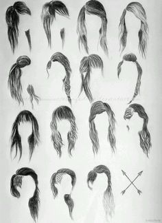 So many different hairstyles.