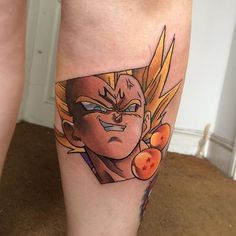 Majin vegeta tattoo done by @4ndy_w4lker. #tattoo #tattoos #ink #videogametattoo #gamertattoo ...